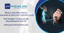 Pro Contract Jobs / Pro Contract Jobs | Long & short contract opportunities from agencies & employers in the UK & around the world. Personalised employment & recruitment services | ProContractJobs.com