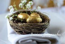 Décoration table de Pâques
