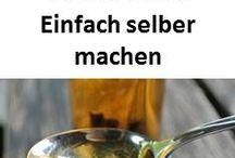 Getränke & Sirups / Einfache Rezepte zum selbst machen von Sirup, Likören, Smoothies & Co.
