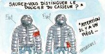 Dessin de Presse : Société / Dessin de Presse société par @_Esclandre_ pour lequerelleur.fr