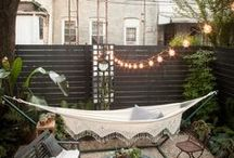Outdoor Living Spaces / Cool ideas for your garden/outdoor area.