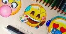 Emoji♥ / Ta tablica jest o Emoji♥♥♥ Kto nie kocha Emoji?♥♥♥