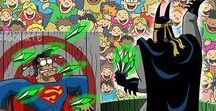 Humor / posts humorísticos sobre temas variados, mas principalmente super-heróis e animais.