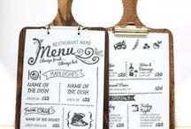 メニュー表 / お店の壁やテーブルをオシャレに飾るメニュー表。インテリアの一つになるので、想いのこもったデザインに仕上げたいですね。そんなメニュー表DIYの参考になる画像を集めました。