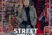 Street Stylin' Like a Fashion Girl / Os melhores looks que as fashionistas desfilam no street style estão aqui.