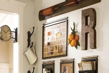 Decor: My Home Inspiration. / Inspiration for my home. I love looking for ideas to inspire my decorating and organizing of my already perfect (for me) home!