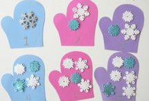 Winter / Winter crafts, winter recipes, winter activities, winter theme / by Sheryl @ Teaching 2 and 3 Year Olds