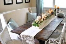 Dining Areas / by Lauren Scribner
