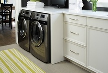 Interiors: Laundry / who knew laundry could look like fun? / by Rebekah Kik