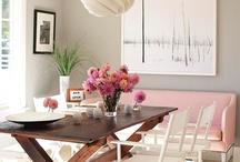Interiors: Dining / by Rebekah Kik