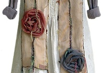 Clothing inspiration / Best advice I've read: go through your old clothes. Cut off the bits you don't like, keep the bits you do like. Sew them together into something new! / by Julie Lawrence