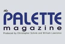 The Palette Magazine / A  quarterly magazine designed to help you become a better artist! Whether you are fairly new to painting or an experienced artist, you'll find The Palette Magazine useful and inspiring. Subscribe now to The Palette Magazine! Back Issues are available. Issues 4 and 22 are out of print. / by Cheap Joe's Art Stuff