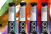 Stuff to Paint with / At Cheap Joe's Art Stuff, you'll find we offer a huge selection of fine artist paints, including watercolors, acrylics, oils, tempera, encaustics and more.  / by Cheap Joe's Art Stuff