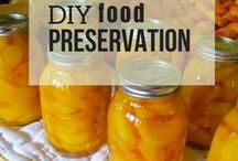 DIY Food Preservation / Get DIY Food Preservation Tips and Recipes! Learn how to make your own canned food and get lessons on canning, dehydrating, freezing, and food storage.