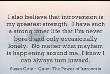 The life of an introvert with social anxiety / by Danielle Cornett