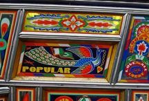 Groovy Transport / The psychedelic vehicles of Afghanistan, Pakistan, Bangladesh and India