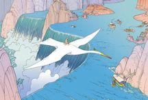 Miyazaki and Moebius