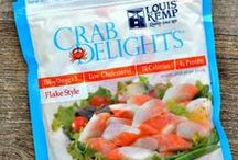 Our Products / We are proud to make our Crab Delights® and Lobster Delights® with premium wild Alaska pollock. Whether you use them at home or on the go, in your favorite salad or more adventurous recipes, they are a delicious and nutritious, ready-to-eat alternative to crabmeat and other shellfish.