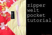 Sew-pockets, welt