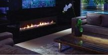 High End Living with Ortal / Gorgeous homes that aren't complete without a modern fireplace from Ortal.