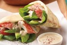Seafood Sandwiches, Wraps & More!