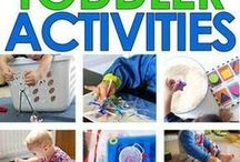Activities for Toddlers and Preschoolers / The best toddler activities and preschool activities including rainy day activities, indoor activities, and educational activities
