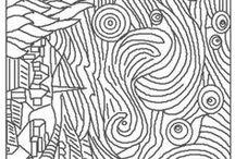 Doodle Drawings & Zentangle