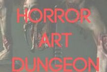 Horror Art / The twisted anguish, nightmares, and insatiable longing of these artists are transformed into something magnificently gruesome. Beauty lies in the ability to inspire an emotion in the audience, and horror can be the most powerful of all.