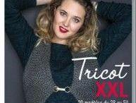 Tricot Grandes tailles / Un magazine Bergère de France entièrement dédié à la femme tout simplement.