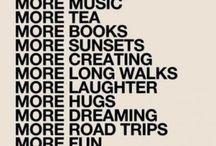 Für mich und alle anderen / Motto, Gedanken, Leben .. uvm