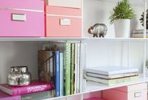 Home Office Ideas / Perfect Home Office and Craft Room Ideas for Craft Bloggers who want a creative space, where they can still be laser focused. Desk ideas and storage for your dream home office. OPEN GROUP BOARD. to join please follow me & send a direct message with your email address