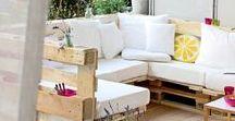 Terrasse, Garten & Balkon / Kreative Lösungen und Ideen für den Outdoor-Bereich. Ob Lounge zum Chillen, DIY-Couch zum selber bauen, Polstermöbel, Hängematte, Pool oder eine tolle Outdoor-Beleuchtung - hier findet ihr alles für einen tollen Sommer zuhause!