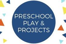 Preschool Play & Projects / things to do with your preschooler or in your preschool classroom. Kids aged 2, 3, 4, and 5 are a lot of fun to play with! They're learning so rapidly, and their interests are so varied.