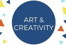 Art & Creativity for Children / Paint, coloring, markers, pencils, crayons, stencils, clay, sewing, cutting and all sorts of other ideas for art and creativity with young children.