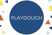 Playdough Play / Playdough and similar type sensory play. Including recipes and creative things to mix with it. Super classic early childhood activity, great for ages 2+