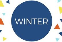 Winter with Children & Families / Snow, snowmen, sleigh rides, hot chocolate, warm fires. Everything to do with winter time play for little children and families