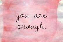 Selbstliebe & Selbstwert ♡ / Ohne Dich würde hier etwas fehlen...Du bist wertvoll!