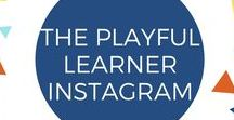 The Playful Learner Instagram / Check me out @theplayfullearner for everything playful learning & parenting, including play and project ideas, Playful Learning quotes, kid photography, and child development factoids. Also, be sure to tag your playful photos #myplayfullearner for a chance to be featured!