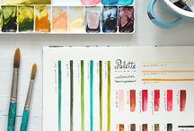 Palette / by Megan Kissman