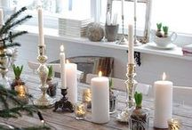 Christmas Decorations / Christmas decoration ideas and floral designs for Christmas, including Christmas weddings and events.