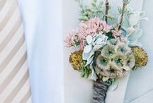 Buttonholes & Corsages / The best and most unusual ideas for wedding buttonholes and corsages.