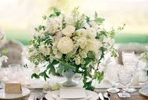 Wedding Centrepieces / Wedding centrepiece ideas: creative and unusual ideas for wedding table centrepieces and decorations.