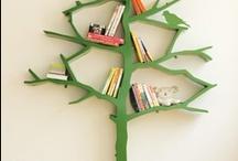 Home Decor bookshelves