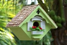 Bird Houses & Feeders / Bird Houses & Feeders for our feathered friends. / by Karen Sermersheim