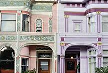 Dream Homes Victorian & San Fran style