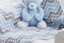 Baby blankets / Crochet / by Juli Angelow Hand
