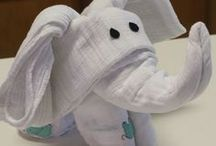 Towels with eyes