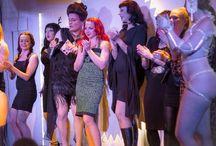 Helsinki Shake It! Burlesque Club / A burlesque club in Helsinki, Finland. Arranged by Osuuskunta Mielipäivä.