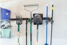 Garage Ideas! / DIY projects, workbench ideas, storage, and other clever ideas for your garage! #homedecor #DIY #decorations #decor #garage #workbench #storage