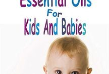 Essential Oils for kids and babies /  Essential Oils, specifically combined and diluted, to be safe for babies and children.